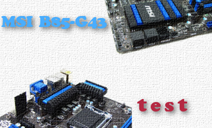 MSI B85-G43 test płyty głównej dla procesorów Intel haswell s.1150