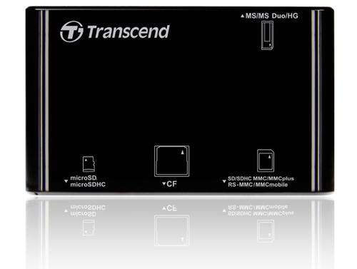 Transcend USB2.0 Multi Card Reader/Writer BLACK