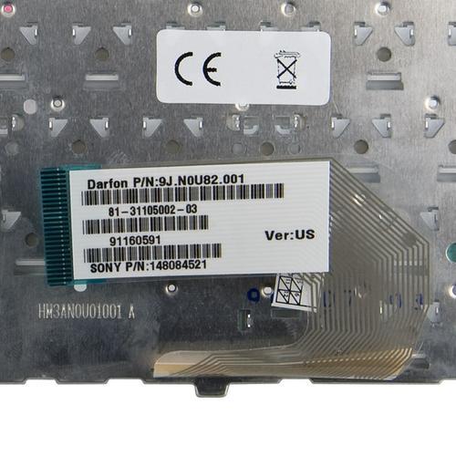 Whitenergy Klawiatura do Sony VAIO VGN-FW - biała