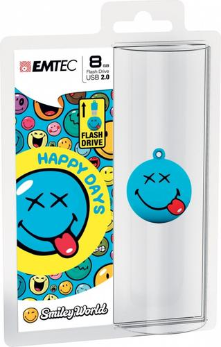 EMTEC Pendrive 8GB Smilley World Happy Days SW103