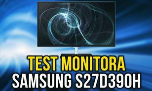 Płynne Działanie na Pokładzie! Monitor Samsung S27D390H