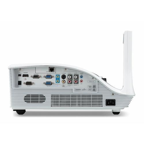 Acer U5213 DLP XGA/3000AL/10.000:1/7.2kg HDMI zasilacz euro (projektor ultra short throw, zgodny z Crestron)