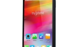 MYPHONE Fun4 DualSim Czarny + 3 obudowy nawigacja NAVITEL w prezencie!