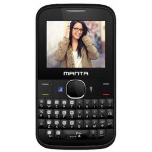 Manta Multimedia QWERTY czarny (TEL2201)