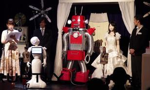 Absurd w Japonii - Roboty Wzięły Ślub