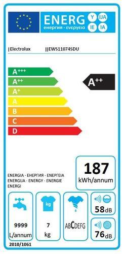 Electrolux EWS11074SDU