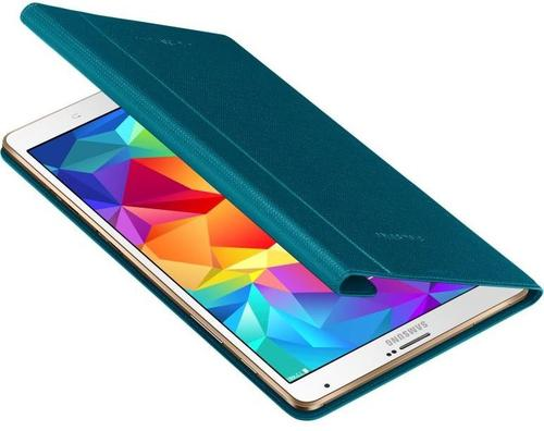 """Samsung Etui w formie """"book cover"""" do GALAXY Tab S 8.4 AMOLED / Klimt (T700/T705) - niebieskie"""
