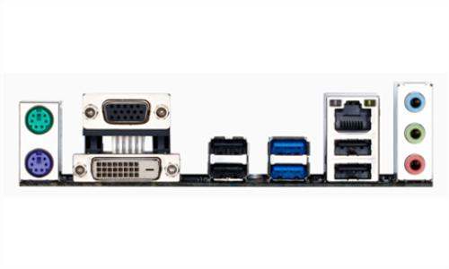 Gigabyte GA-B85M-D2V s1150 B85 2DDR3 USB3/GLAN uATX
