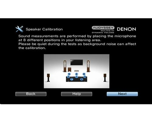 Denon AV AVR-X3000BK