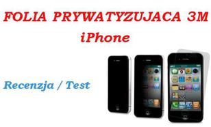 Folia Prywatyzująca 3M iPhone