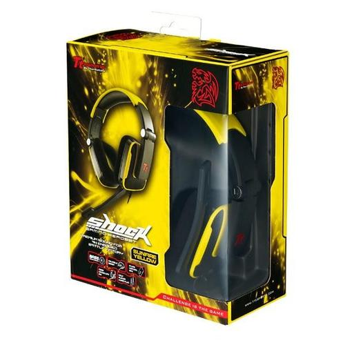 Thermaltake Tt eSports Słuchawki dla graczy - Shock Sunfire Yellow