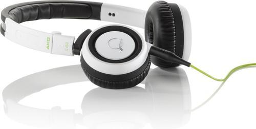 AKG Q460 Białe Słuchawki zamknięte