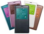 S5 Wireless QI Charging S-View Flip Cover - Wysokiej jakości oficjalne etui na smartfon