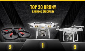 Najpopularniejsze Drony na Naszym Rynku - Poznaj Ranking Specjalny TOP 20!