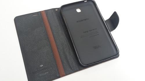 """WEL.COM Etui Fancy Diary do Galaxy Tab 3 Lite 7"""" brązowo-czarne"""