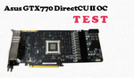Asus GTX 770 DirectCU II OC test i recenzja