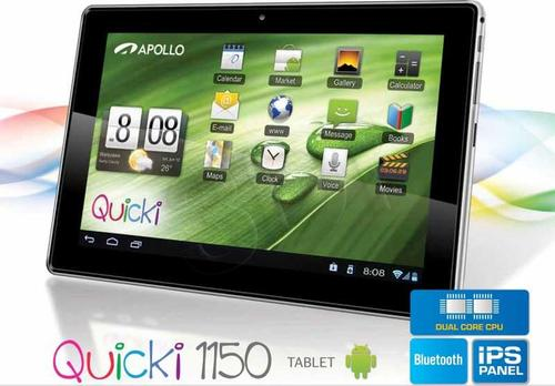 Apollo QUICKI 1150 A9 1GB 10,1 16GB Wi-Fi And 4.1