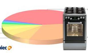Ranking kuchenek gazowych i elektrycznych - grudzień 2013