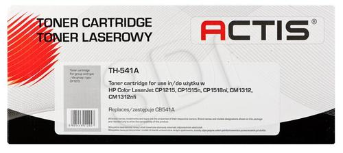 Actis TH-541A cyan toner do drukarki laserowej HP (zamiennik 125A CB541A) Standard