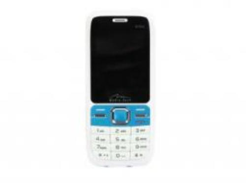 Media-Tech Twin Phone, biało-niebieski (MT843WB) - wyjątkowa okazja