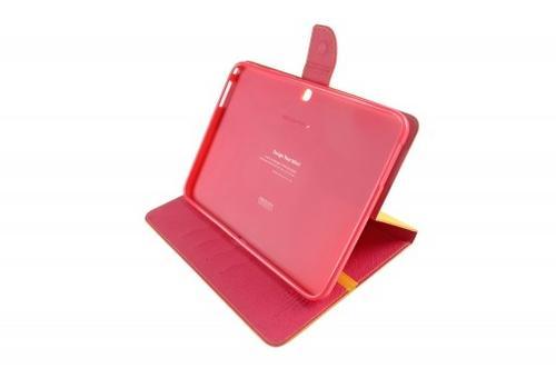 """WEL.COM Etui Fancy Diary do Galaxy Tab S 10.5"""" żółto-różowe"""