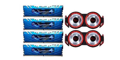 G.SKILL DDR4 16GB (4x4GB) Ripjaws4 3300MHz CL16 XMP2 Black + 2x TB3 Fan