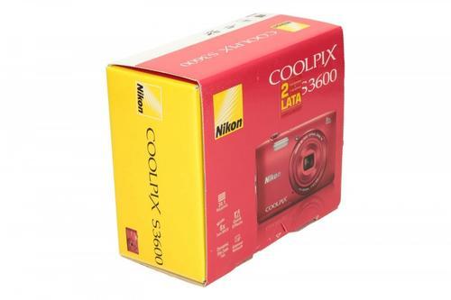 Nikon S3600 red
