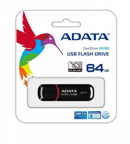 A-Data DashDrive Value UV150 64GB USB3.0 Black