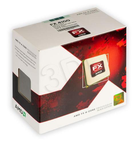 AMD X4 FX-4100 3.6GHz BOX (AM3+)(95W,12MB)