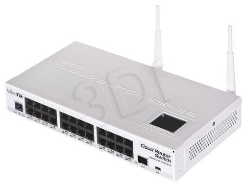 MikroTik CRS125-24G-1S-2HnDIN 600 MHz 128MB Wi-Fi