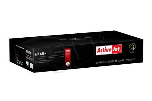 ActiveJet ATK-675N toner Black do drukarki Kyocera (zamiennik Kyocera TK-675N) Supreme