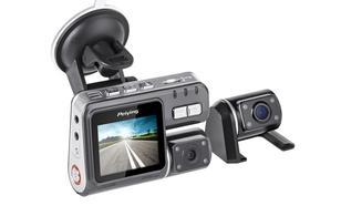Peiying Rejestrator samochodowy Peiying HD (1280x720) dwie kamery
