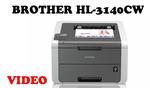 BROTHER HL-3140CW - niewielka, kolorowa drukarka