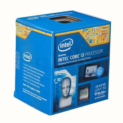 intel CORE i3 4150 3.5GHz LGA1150 BOX