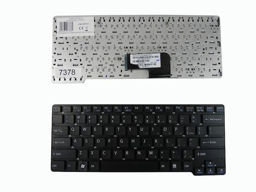 Qoltec Klawiatura do notebooka SONY VGN-CW BLACK