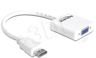 ADAPTER DELOCK HDMI (M)> VGA(F)