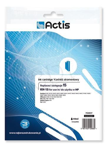 Actis KH-15 tusz czarny do drukarki HP (zamiennik HP 15 C6615N) Standard