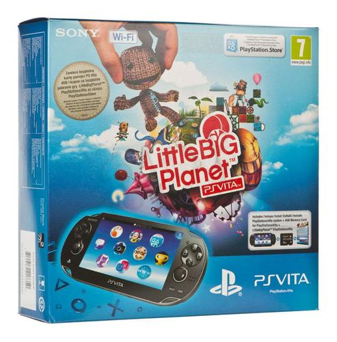 PS Vita Wifi + Little Big Planet + 4GB