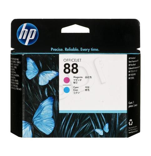 HP Głowica Czerwony i Niebieski HP88Mg+Cg=C9382A, Głowica Mg+Cg