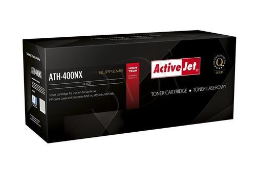 ActiveJet ATH-400NX czarny toner do drukarki laserowej HP (zamiennik 507X CE400X) Supreme