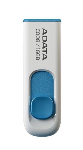 A-Data DashDrive Classic C008 16GB USB2.0 biało-niebieski