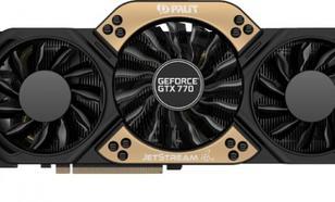 Palit GeForce CUDA GTX770 JETSTREAM 2GB DDR5 256Bit 2DVI/HDMI/DP