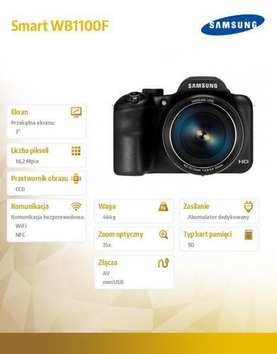Samsung Smart WB1100F black