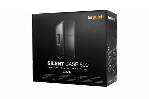 be quiet! SILENT BASE 800 Black BG002