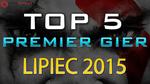 TOP 5 Premier Gier - Lipca 2015 - World of Tanks, F1 2015 i God of War III Remastered