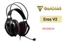 Gamdias Eros V2 - Wygodne Słuchawki z Wirtualnym Dźwiękiem 7.1
