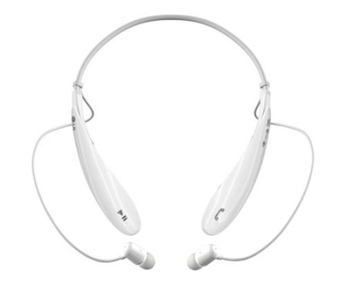 LG Bluetooth Stereo Headset HBS-800 White Pearl