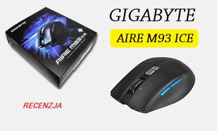 Gigabyte Aire M93 ICE - Mysz Na Każdą Powierzchnię!