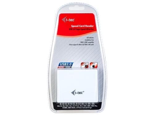 i-Tec USB 3.0 All-in-One Reader Extreme (SDXC ready) - biały