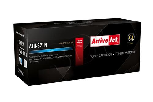 ActiveJet ATH-321N cyan toner do drukarki laserowej HP (zamiennik 128A CE321A) Supreme